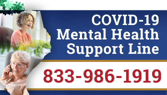 HHS Launches Statewide COVID-19 Mental Health Support Line