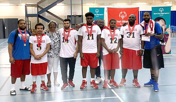 Mexia SSLC Team Wins Special Olympics Basketball Tournament