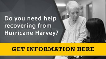 Do you need help recovering from Hurricane Harvey? Get information here.