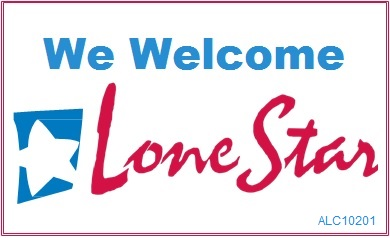 We Welcome Lone Star Card